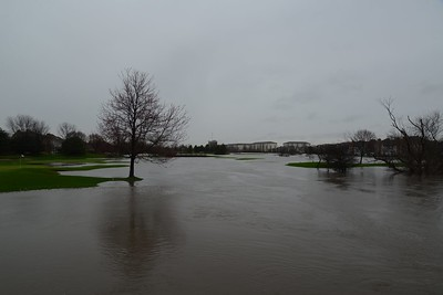 Seven Bridges Water Golf Course - looks like the green might be dry