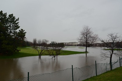 Seven Bridges water (golf) Course from Hobson Road