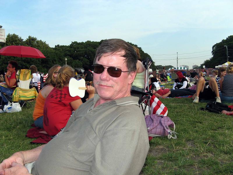 083 Bruce at Grant Park Concert