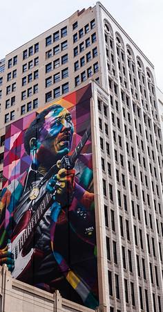 Muddy Waters mural