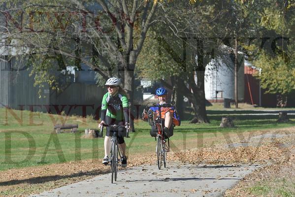 Chichaqua Trail Fall Colors Ride Oct. 22, 2016