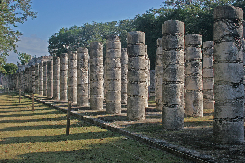 Part of the Column of 1000 pillars