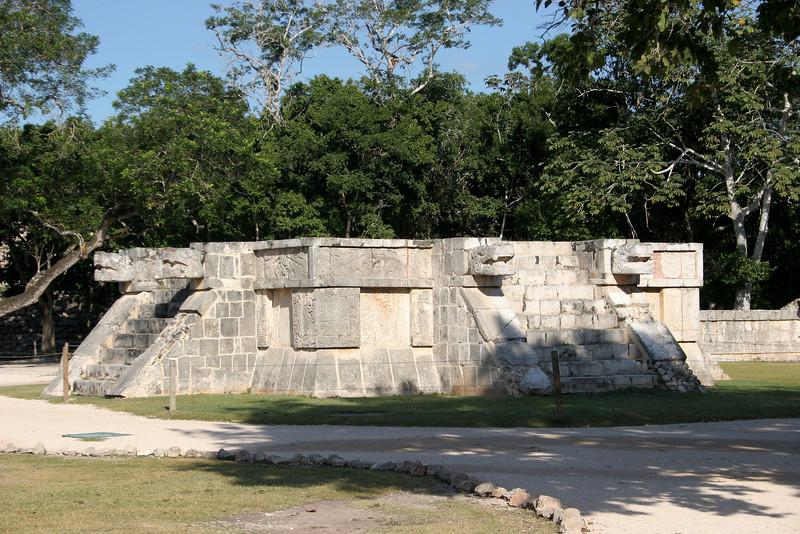 Platform of The Eagles and Jaguars.