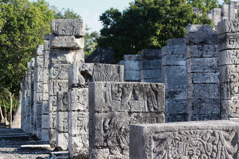 More detail of the Warriors Temple