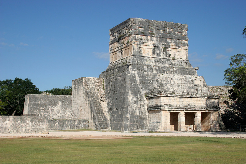 Jaguar Temple from the south east