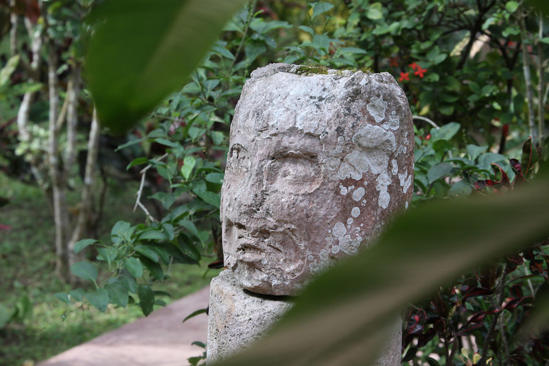 The whole Chichen Itza complex covered a huge area and remnants can be seen in many places.