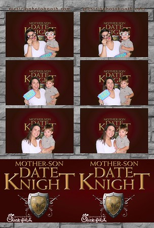 Chick-Fil-A Mother Son Date Knight - Greenscreen