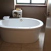 Tub in the executive bath room