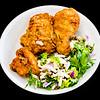 KFC with fennel salad