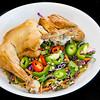 Portion control. Roast chicken with kale coleslaw. #dinner #yummylummy #foodporn #yummy #delicious #instafood #nikon