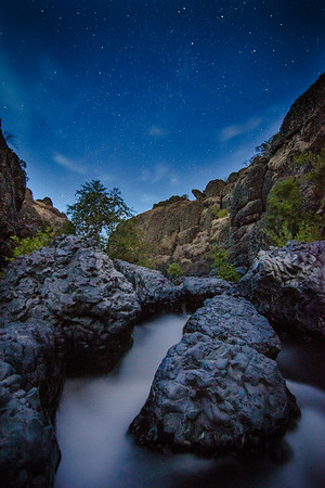 Bidwell Stars over Big Chico Creek