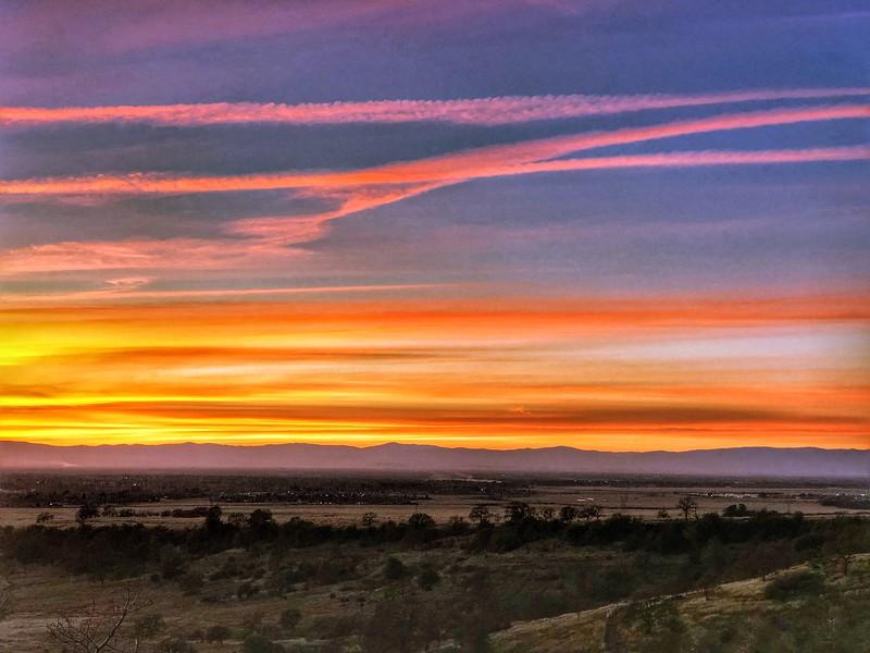 Upper Bidwell Park Sunset , Chico California