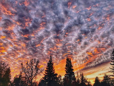 Sunset Chico California