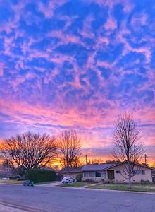 Morning Sunrise Chico California