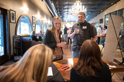 The Chico Chapter Fall Mixer at Almendra Winery on Saturday, October 14, 2017 in Chico, Calif.  (Jessica Bartlett/University Photographer)
