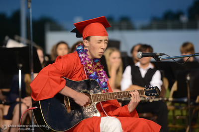 Seniors from Chico High School graduate Wednesday, June 7, 2017, at University Stadium in Chico, California. (Dan Reidel -- Enterprise-Record)