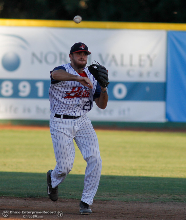 . The Chico Heat take on the Medford Rogues, the first-place team in the Great West League July 13, 2017 at Nettleton Stadium in Chico, California.  (Emily Bertolino -- Enterprise-Record)