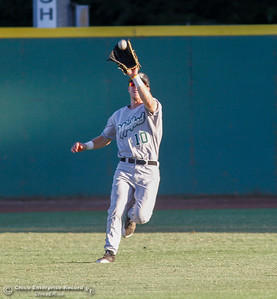 The Chico Heat take on the Medford Rogues, the first-place team in the Great West League July 13, 2017 at Nettleton Stadium in Chico, California.  (Emily Bertolino -- Enterprise-Record)