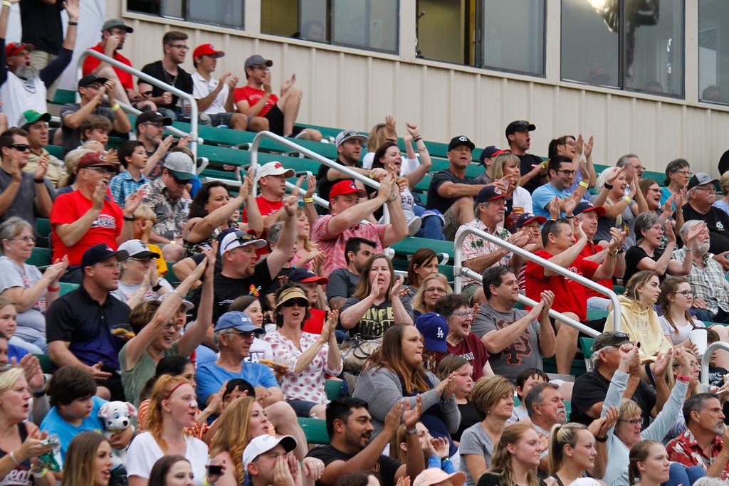 . Chico Heat home opener against the Portland Pickles May 30, 2017 at Nettleton Stadium in Chico, California. (Emily Bertolino -- Enterprise-Record)