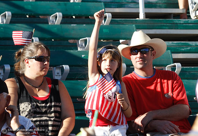 The Chico Heat hosts the Marysville GoldSox July 4, 2017 at Nettleton Stadium in Chico, California.  (Emily Bertolino -- Enterprise-Record)