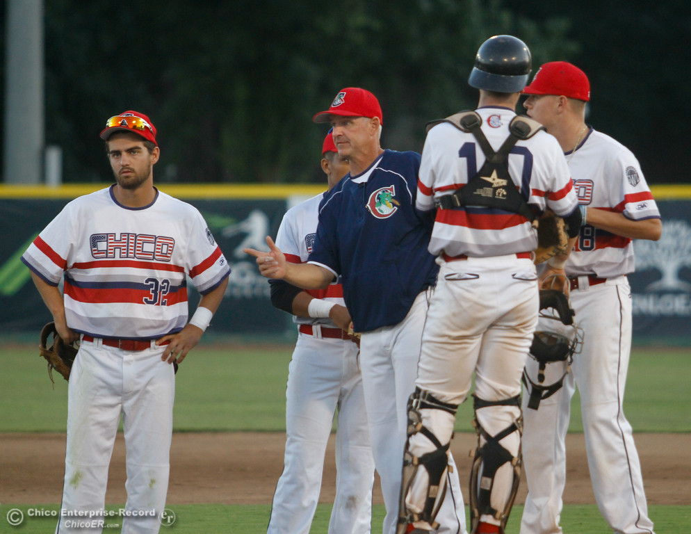 . Yuba City Bears at Chico Heat Tuesday July 18, 2017 at Nettleton Stadium in Chico, California.  (Emily Bertolino -- Enterprise-Record)