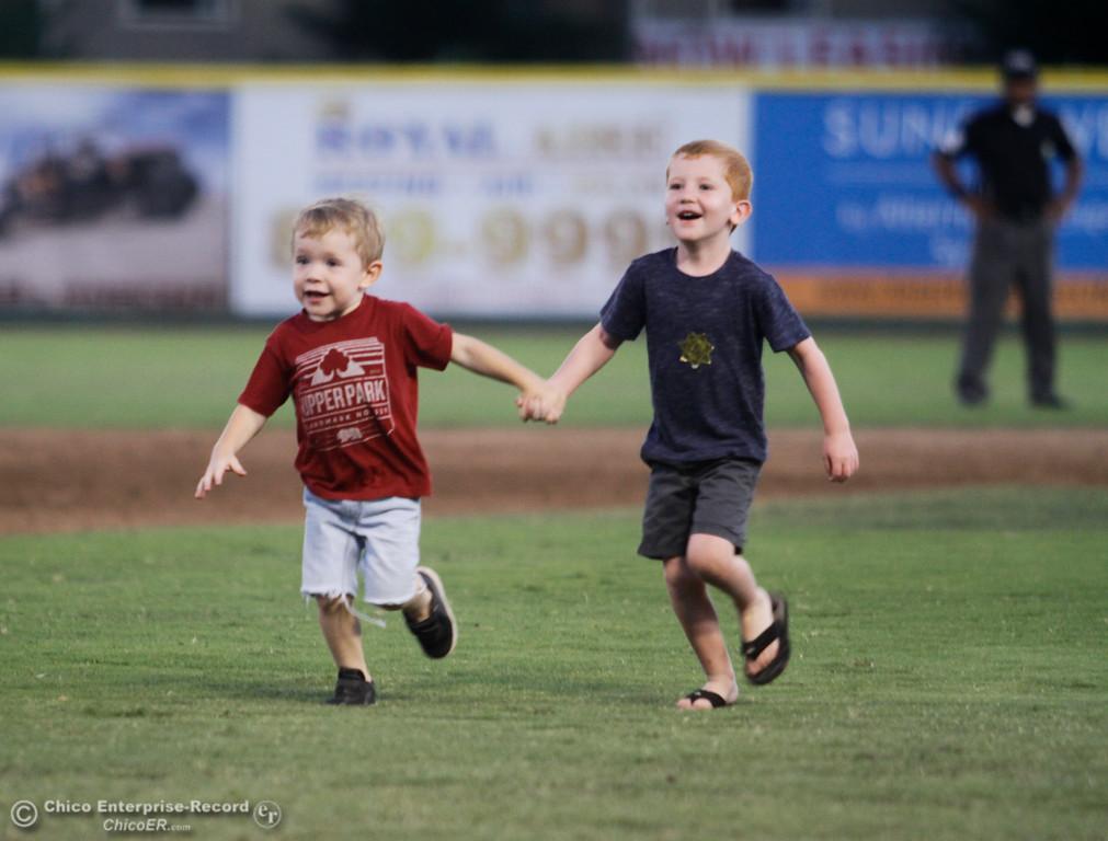 . Yuba City Bears at Chico Heat Tuesday July 18, 2017 at Nettleton Stadium in Chico, California.  (Emily Bertolino -- Enterprise-Record)