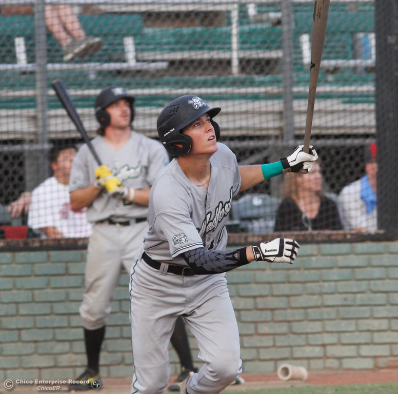 . Chico Heat hosts the Medford Rogues in the first game of the Great West League championship series August 11, 2017 at Nettleton Stadium in Chico, California. (Emily Bertolino -- Enterprise- Record)