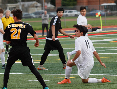 Chico High hosts Enterprise soccer in playoff game February 16, 2017