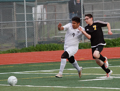 Chico High's  hosts Enterprise in a playoff soccer game February 16, 2017 in Chico, California. (Emily Bertolino -- Enterprise-Record)