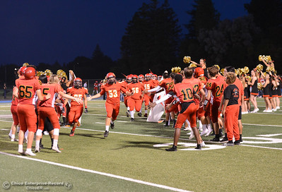 The Chico High Panthers hosts the Oroville Tigers football Friday September 8, 2017 at Asgard Yard in Chico, California. (Emily Bertolino -- Enterprise-Record)