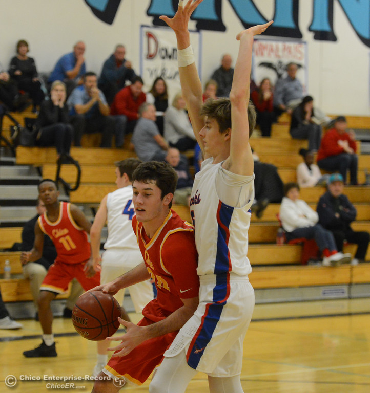 . Chico tips off the annual McDonald\'s Winter Classic at against Tamalpais Thursday December 7, 2017 at Pleasant Valley High School in Chico, California. (Emily Bertolino -- Enterprise-Record)