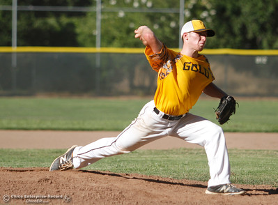 Chico Nuts host the Feather River Gold in a doubleheader Tuesday July 11, 2017 at Ron Doryland Field in Chico, California.  (Emily Bertolino -- Enterprise-Record)