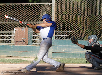 Chico Nuts hosts Oroville Post 95 baseball in the last home games of the season Wednesday July 12, 2017 at Ron Doryland Field in Chico, California.  (Emily Bertolino -- Enterprise-Record)