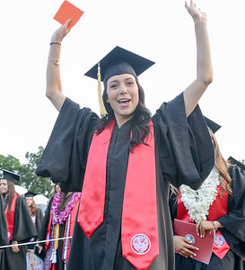 Scenes from Chico State's graduation ceremony Friday, May 17, 2019, in Chico, California. (Matt Bates -- Enterprise-Record)