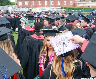 Scenes from Chico State's graduation ceremony Saturday, May 18, 2019, in Chico, California. (Matt Bates -- Enterprise-Record)