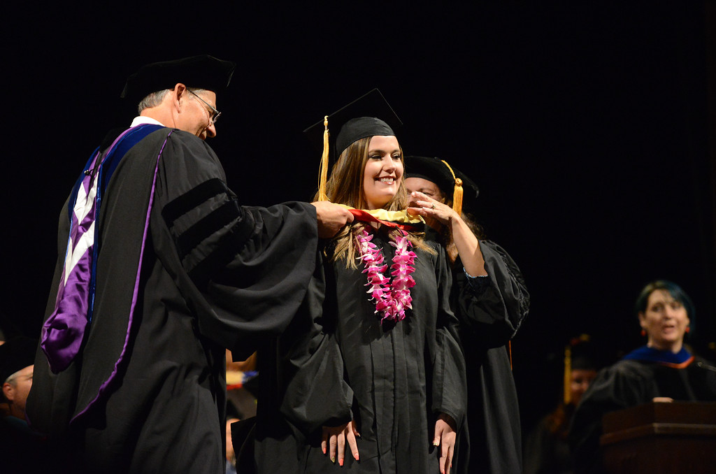 . College of Agriculture Commencement, May 18, 2018,  in Chico, California. (Carin Dorghalli -- Enterprise-Record)