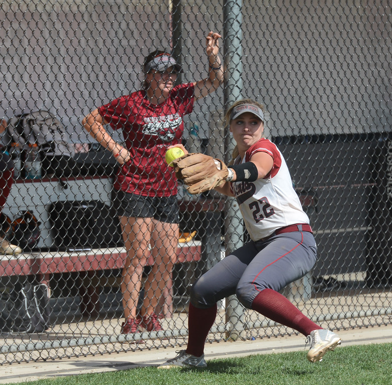 . Chico State hosts Cal State San Bernardino on the first day of the 2017 NCAA West Regional Division II Softball Championship Tournament Thursday May 11, 2017 at he University Softball Field in Chico, California. (Emily Bertolino -- Enterprise-Record)