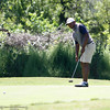 The Chico State mens golf team faces Cal State Monterey Bay in match play Wednesday, April 25, 2018, for the California Collegiate Athletic Association championship at the Butte Creek Country Club in Chico, California. (Dan Reidel -- Enterprise-Record)