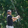 Johs McCollum tees off on 17 as the Chico State mens golf team faces Cal State Monterey Bay in match play Wednesday, April 25, 2018, for the California Collegiate Athletic Association championship at the Butte Creek Country Club in Chico, California. (Dan Reidel -- Enterprise-Record)