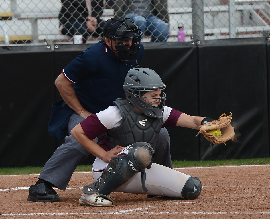 . Chico State vs. Monterey Bay State Women\'s Softball, Friday, March 9, 2018, in Chico, California. (Carin Dorghalli -- Enterprise-Record)