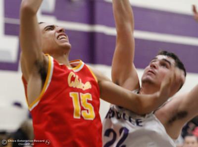 Chico High at Oroville boys basketball January 3, 2017 in Oroville California. (Emily Bertolino -- Enterprise-Record)