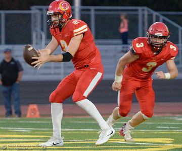 during Chico High vs Lassen High School varsity football action at Chico, Calif. Friday Aug. 31, 2018.  (Bill Husa -- Enterprise-Record)