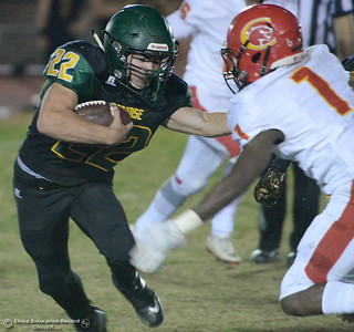 during Paradsise vs Chico football at Paradise High Friday, Oct. 5, 2018.   (Bill Husa -- Enterprise-Record)