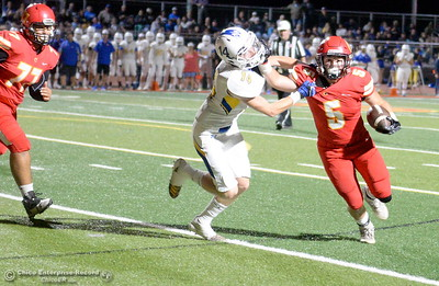 during first half action of Chico vs Sutter football at Chico Friday, Sept. 14, 2018.  (Bill Husa -- Enterprise-Record)
