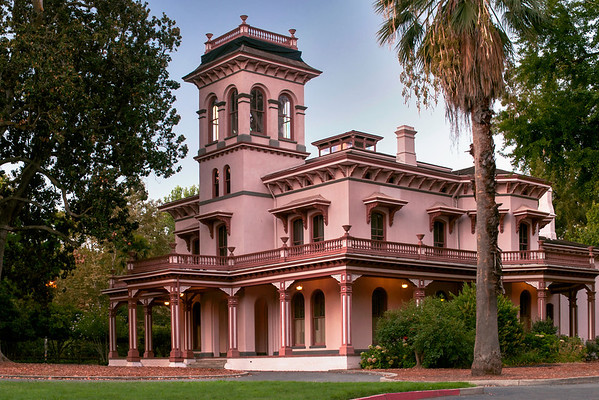 Bidwell Mansion, Early Morning