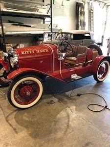 Kitty Hawk, NC - 1927 Fire Chief's Car