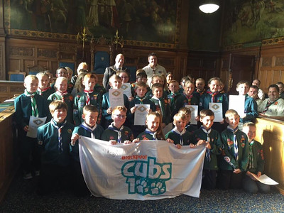 Chief Scout Silver Awards 2016