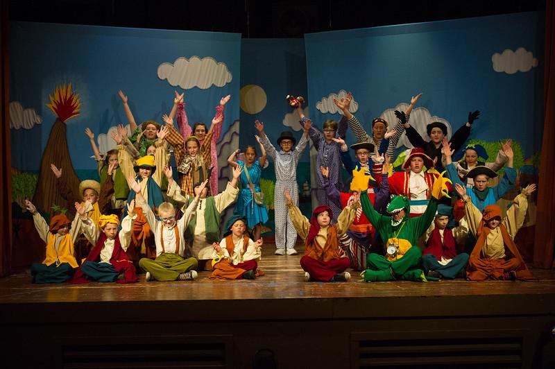 P&W CP: The cast celebrates .