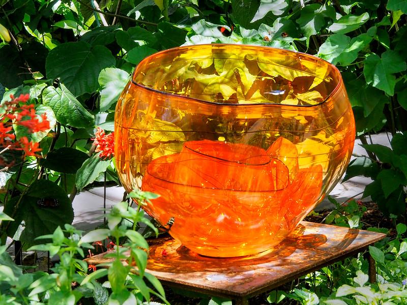 Fire Orange Baskets