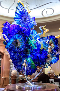 Chihuly Glass At Bellagio Hotel In Las Vegas